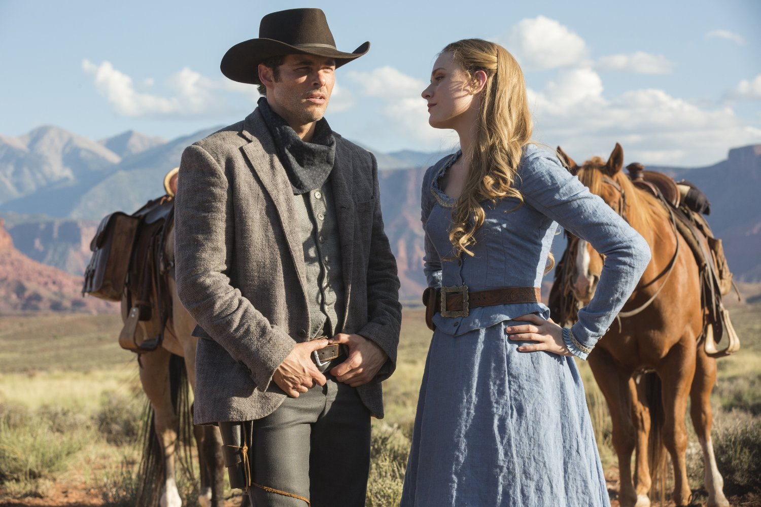 Westworld Teddy and Dolores