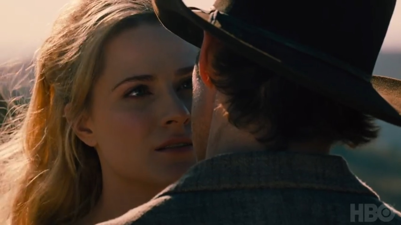 Teddy and Dolores Westworld