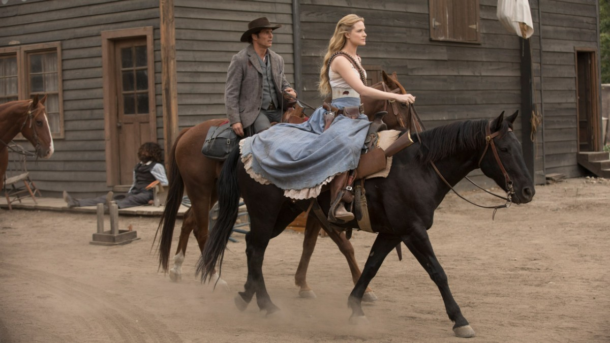 Dolores and Teddy Westworld - Copy