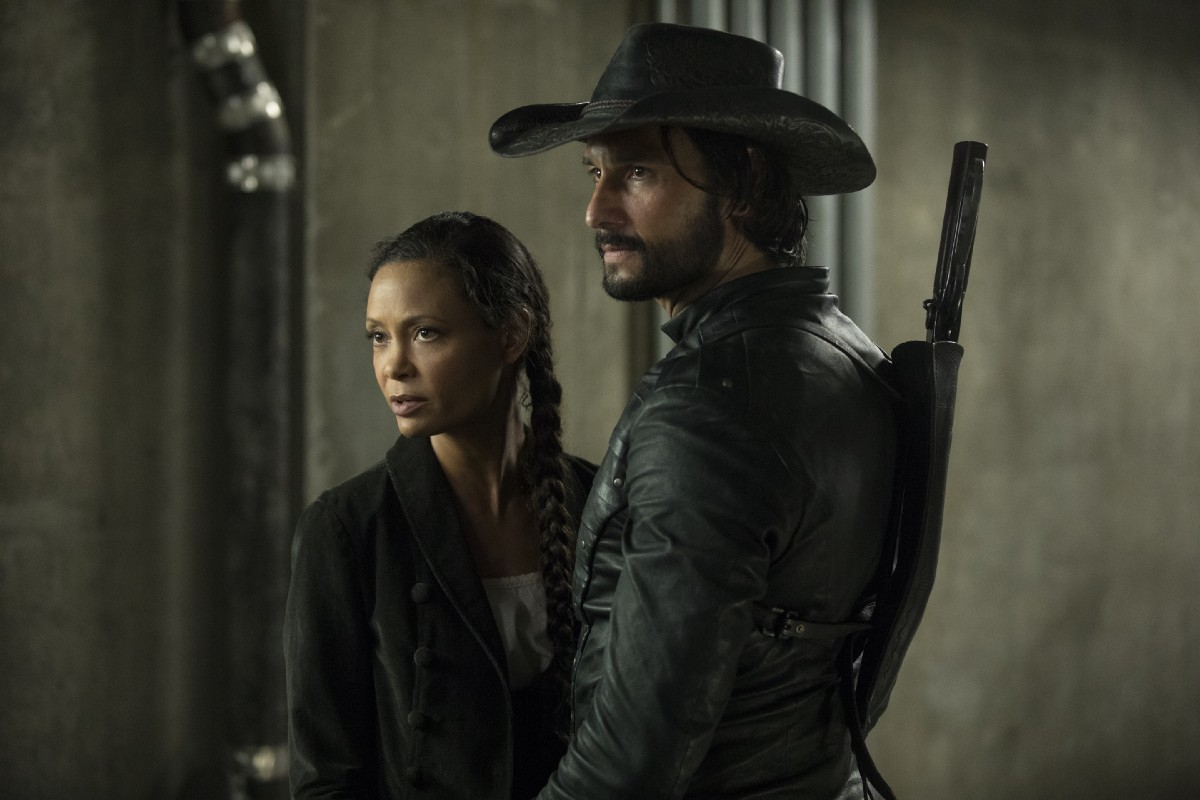 Maeve and Hector Westworld