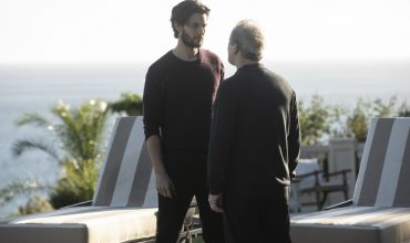 Logan and James Delos Westworld