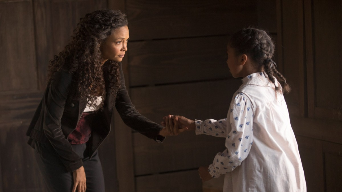 Maeve and Daughter Westworld